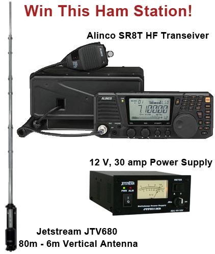 Win This Ham Radio Station!