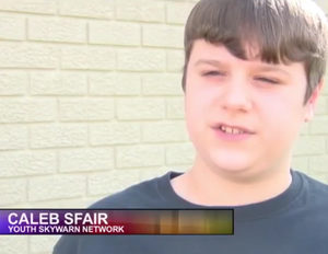 KSN-TV Joplin, Missouri Covers Skywarn Youth Nets